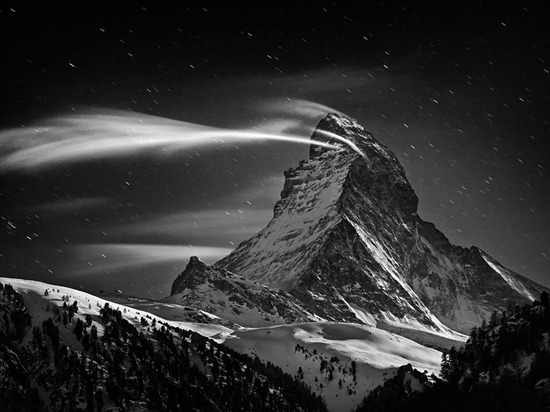 Matterhorn at Night