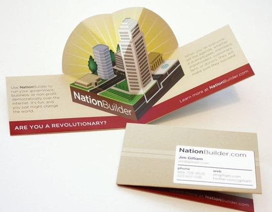 NationBuilder Pop-up Business Card