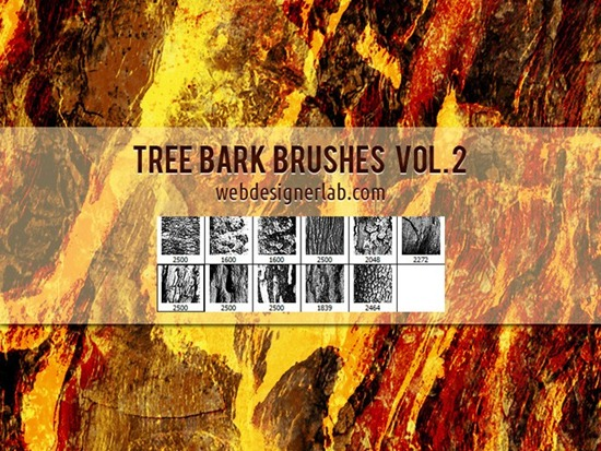Tree Bark Brushes Vol. 2
