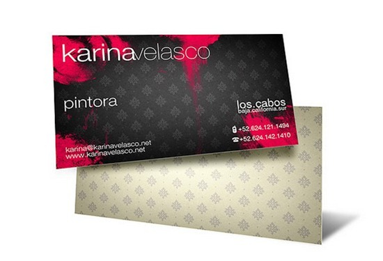 karina velasco business cards