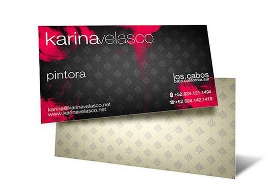 karina velasco business cards