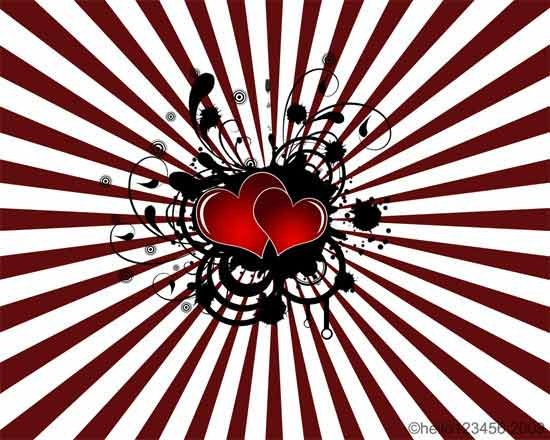 25-Grunge-Vector-Hearts-Wallpaper