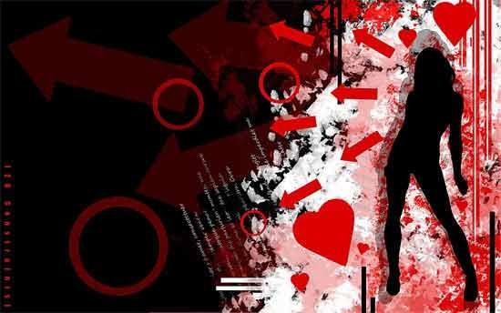 29-Grunge-Silhouette-Wallpaper