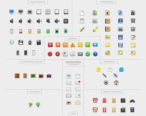 Boolean Iconset