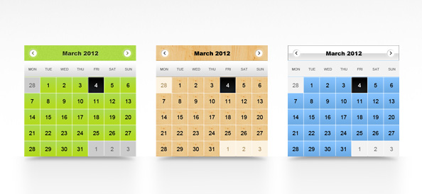 Calendar-PSD-Templates