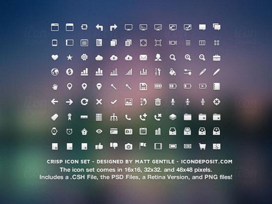 Crisp-Icon-Set