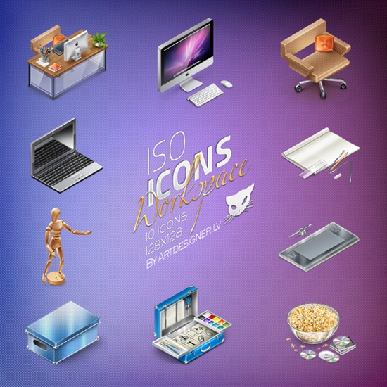 IsoIcons-Workspace