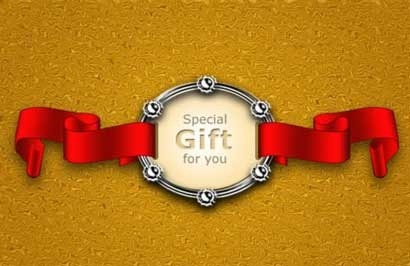 Ribbon-Gift-Badge