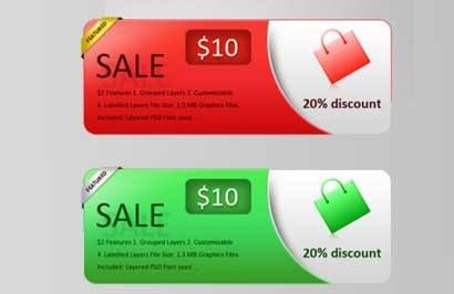 Sales-Banner-Set