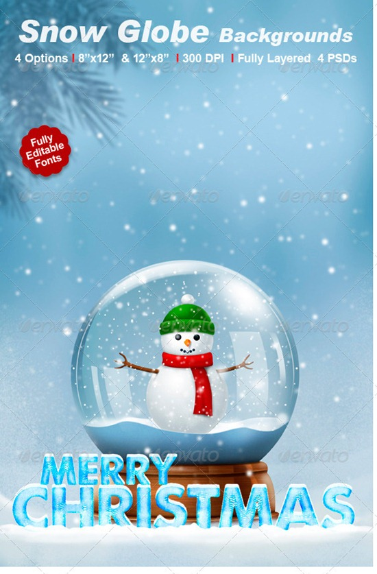 Snow Globe Backgrounds