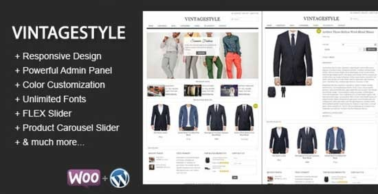 VintageStyle-Responsive-E-commerce-Theme