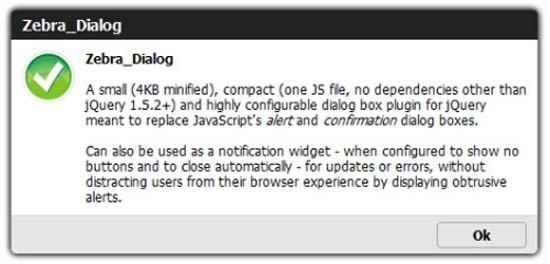 Zebra-Dialog-Box-jQuery-plugin
