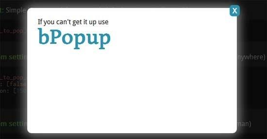 bPopup-box