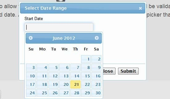 jQuery-Datepicker-and-Dialog-To-Select-Date-Range