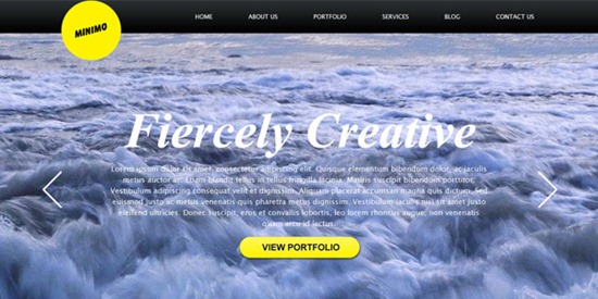 minimal-full-bg-website-template