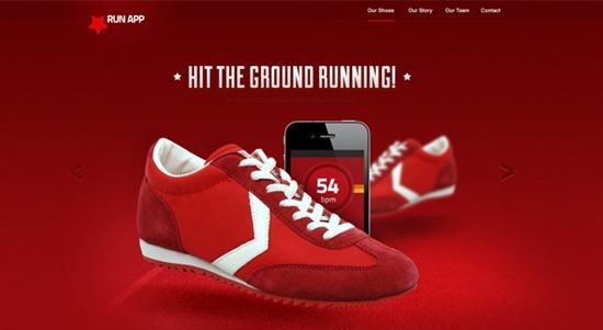 run-app-website-design-psd