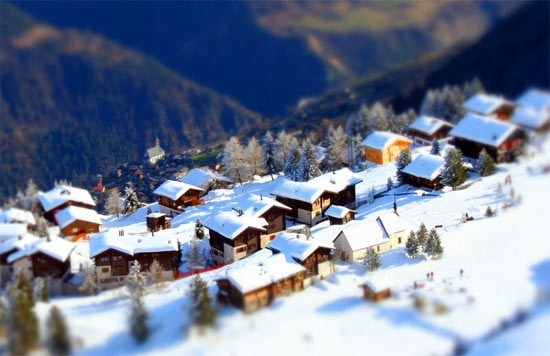 tilt-shift-riederalp