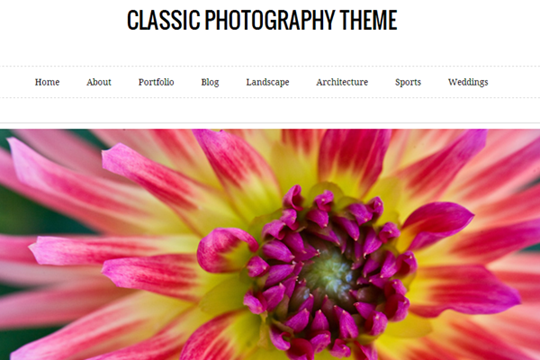classic-photography-free-wordpress-theme-2012