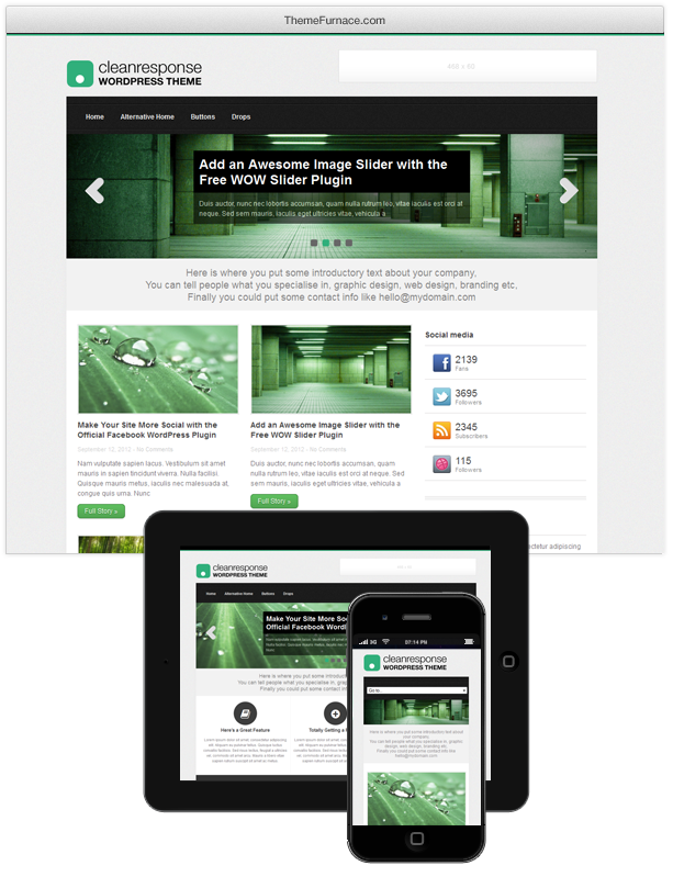 cleanresponse-2012-wordpress-theme