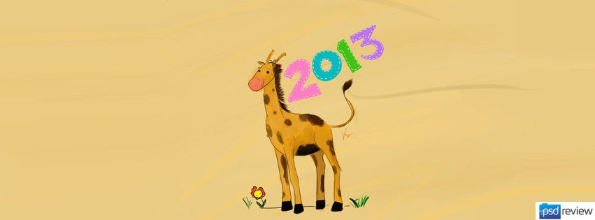 latest-giraffe-happy-new-year-2013-facebook-timeline-cover