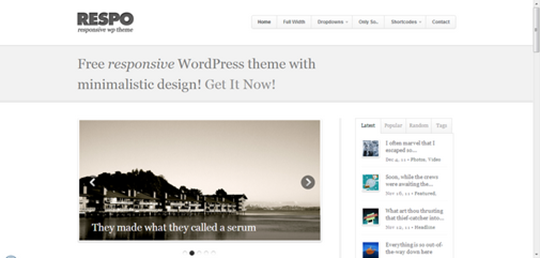 respo-free-wordpress-theme
