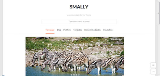 smally-wordpress-theme