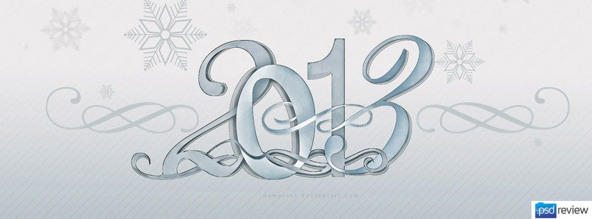 text-effect-new-year-facebook-timeline-cover