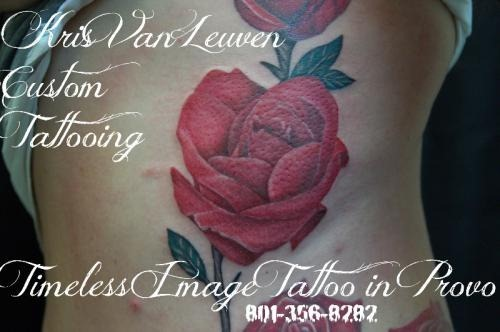 latest valentine's day tattoos for girl on back