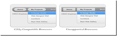 CSS3_DD_MENU