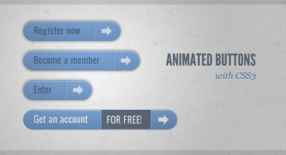 Animated-Buttons-with-CSS3