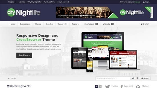 City Nightlife – Responsive Multi-Purpose Theme