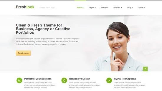 Freshlook – Responsive MultiPurpose HTML5 Template