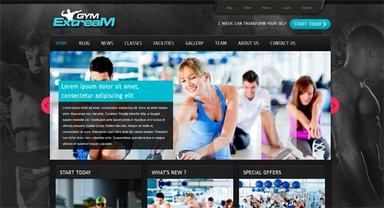 Gym Extream – Gym and Fitness WordPress