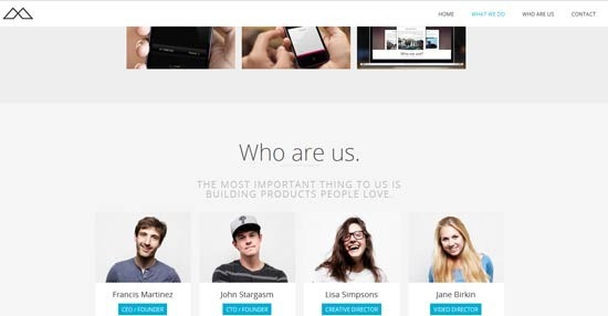 HALFCREATIVE – Responsive One Page HTML Template