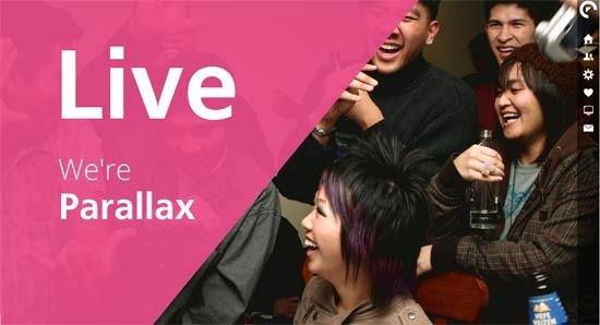 LIVE – Interactive Parallax – Responsive HTML5