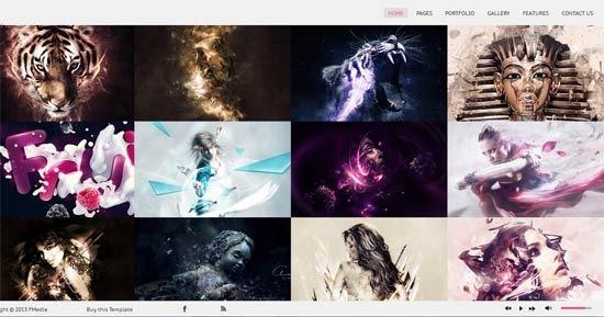 OREO – Creative Portfolio Responsive Retina HTML