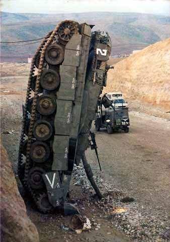 Parked My Tank