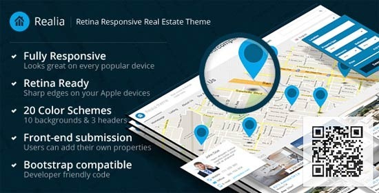 Realia – Retina Responsive Real Estate Template