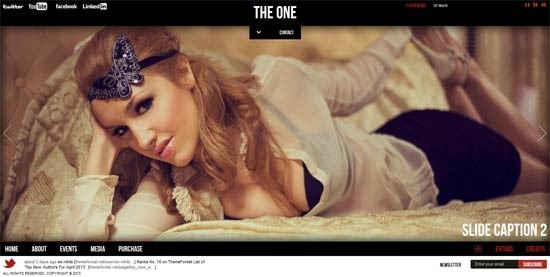 The One - One Page HTML Template