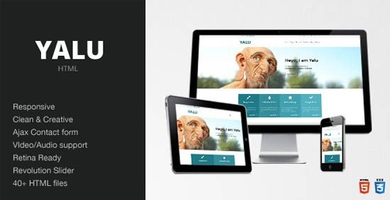 Yalu – Creative Multipurpose Template – HTML