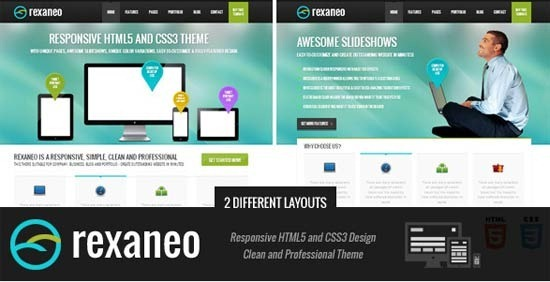rexaneo – Responsive Multipurpose HTML5 Template