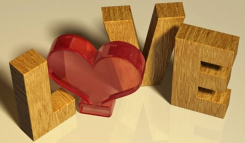 Valentine's Day 3D Text Effect