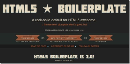 html5-and-boilerplate