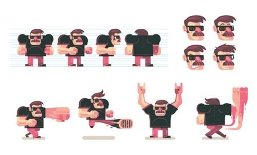 illustrator Tutorials To Create Amazing Vector Characters 18