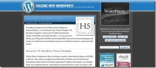 wordpress h5
