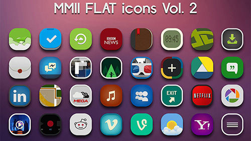MMII Flat Icons
