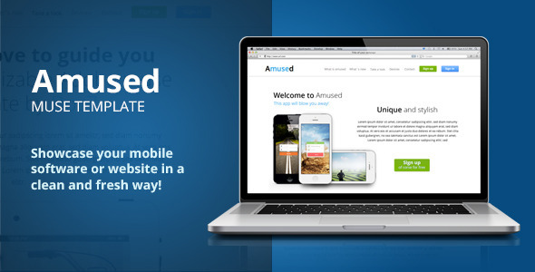Amused-Adobe-Muse-Template