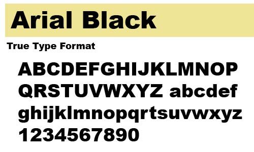 Arial-Black
