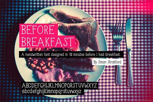 Before-Breakfeast