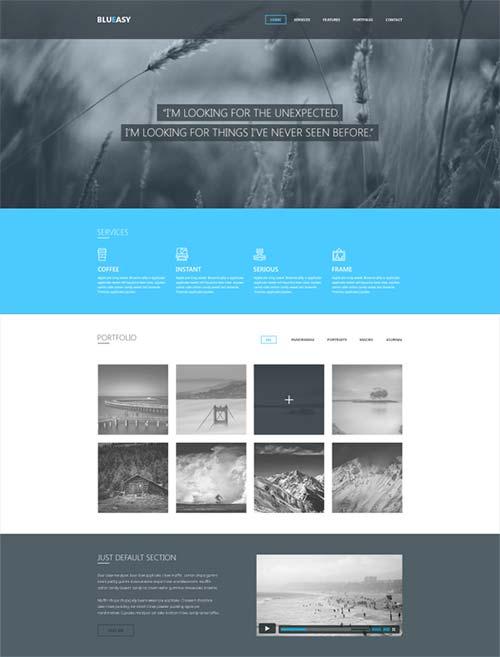 Blueasy-PSD-Portfolio-Template-by-Djordje-Vanjek